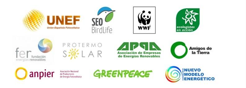 Las Principales Asociaciones Empresariales Del Sector, ONGs Medioambientales Y Entidades De La Sociedad Civil Exigen El Desbloqueo De Las Renovables