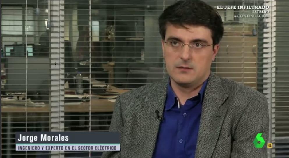"""Jorge Morales En El Intermedio: """"La Central Más Cara Marca El Precio De La Luz. El Gobierno Sí Podría Cambiar Las Reglas"""""""