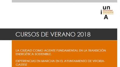 Curso 2018: «Las Ciudades Como Motor Del Cambio De Modelo Energético» – Raquel Paule