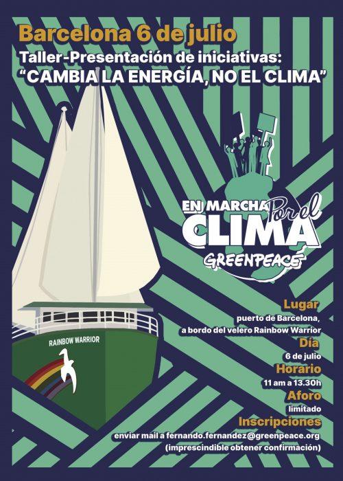 «En marcha por el Clima. Cambia la energía, no el clima»