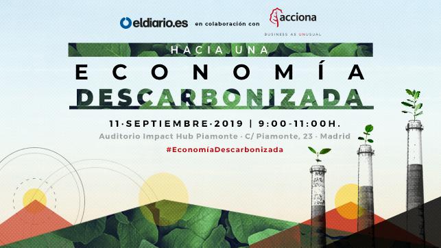 Hacia una economía descarbonizada