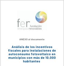 ANEXO Análisis De Los Incentivos Fiscales Para Instalaciones De Autoconsumo Fotovoltaico En Municipios Con Más De 10.000 Habitantes