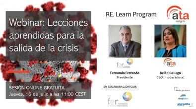 Lecciones aprendidas para la salida de la crisis