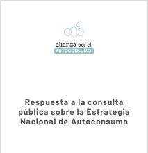 Alegaciones De AxA A La Estrategia Nacional Del Autoconsumo