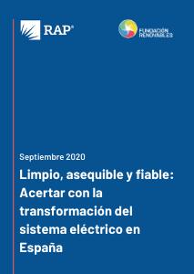 Limpio, asequible y fiable: Acertar con la transformación del sistema eléctrico en España
