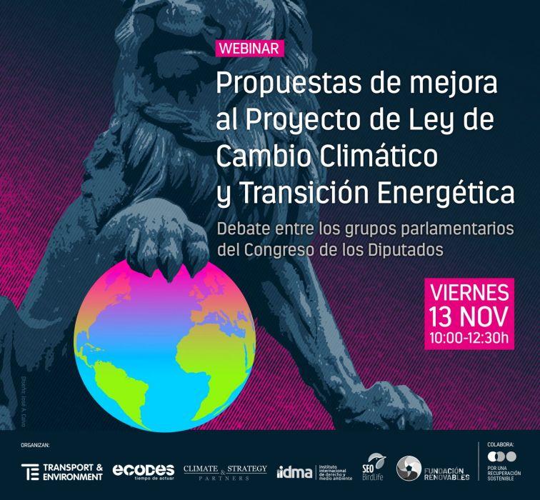 Debate – Los Grupos Parlamentarios ante la aprobación de la Ley de Cambio Climático y Transición Energética