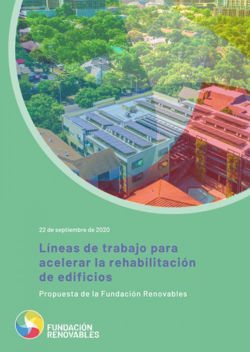 Líneas de trabajo para acelerar la rehabilitación de edificios