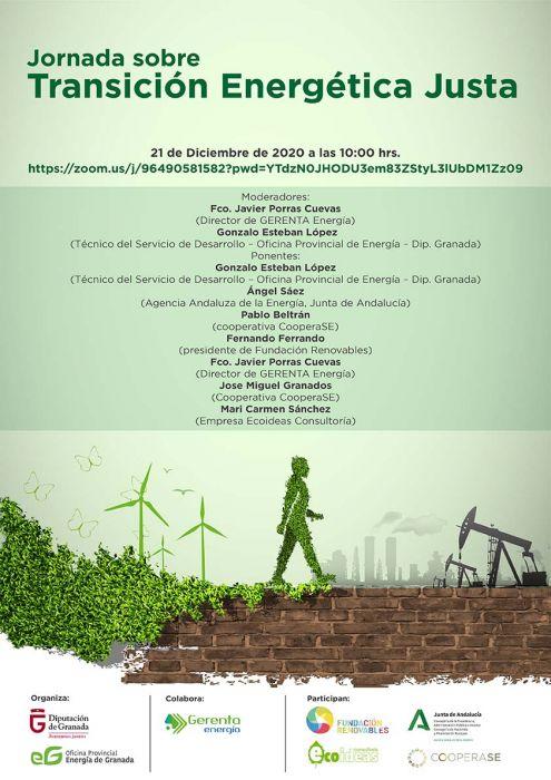Jornada sobre Transición Energética Justa
