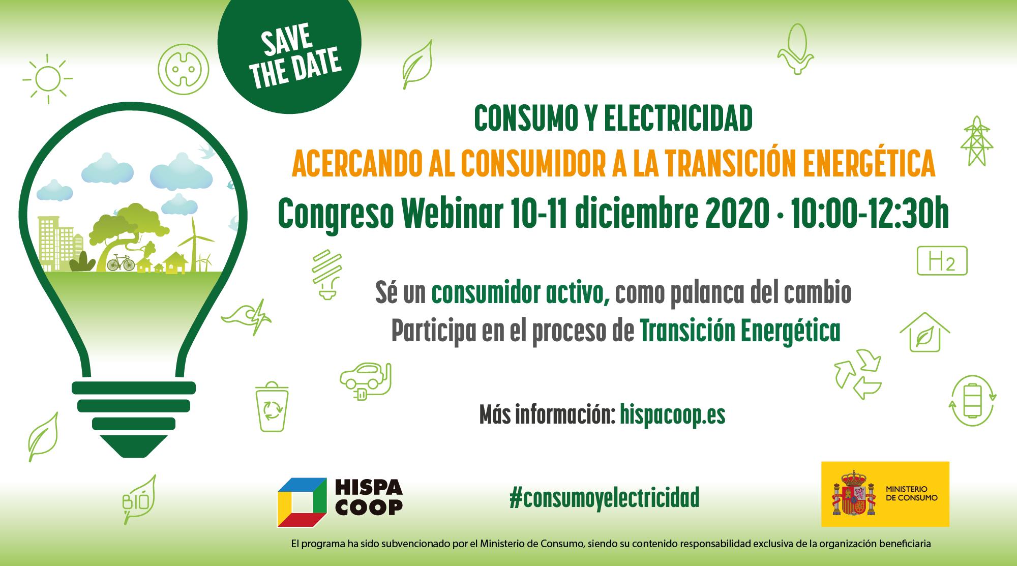 CONGRESO WEBINAR- Acercando al consumidor la transición energética