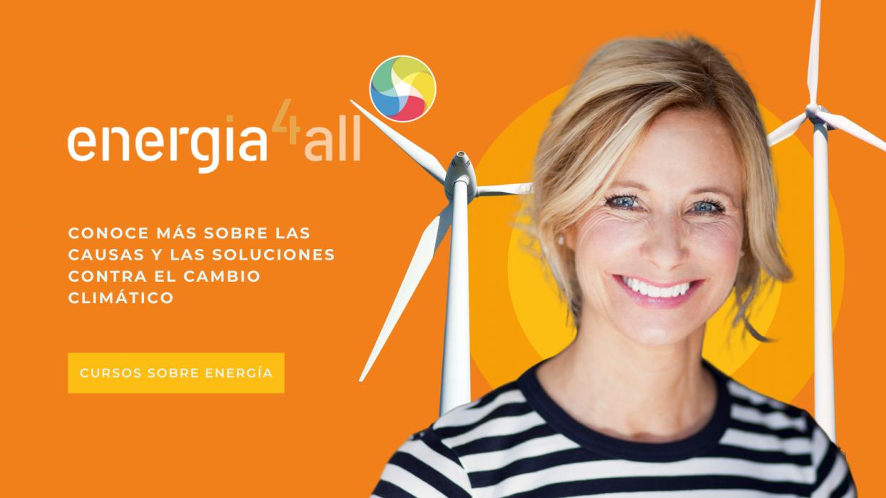 La Fundación Renovables crea Energía4All, un curso gratuito para todos sobre cambio climático y energía que comienza el 10 de mayo