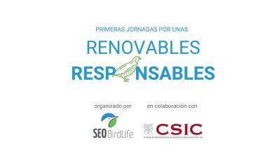 Programa I Jornadas Renovables Responsables
