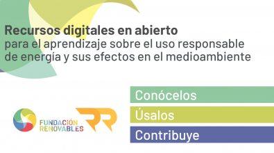 La Fundación Renovables Crea Rec4Ren, Un Repositorio De Recursos Educativos Abierto Y Online Sobre Energía Y Sostenibilidad
