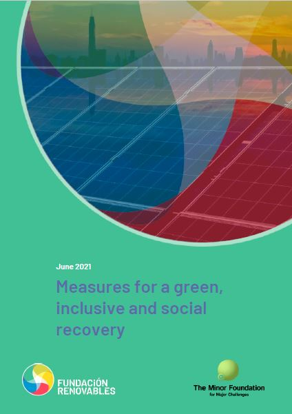 Measures for a green, inclusive and social recovery