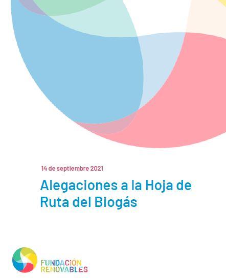 Alegaciones a la Hoja de Ruta del Biogás